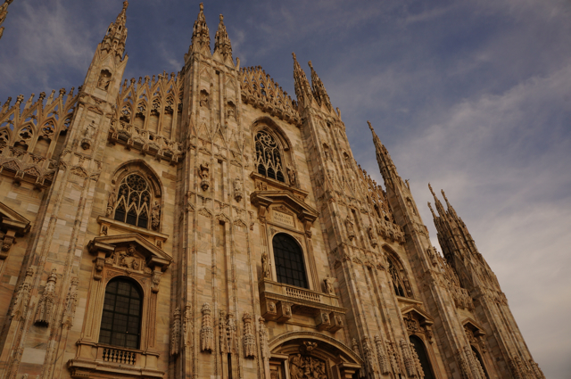 Visit the Duomo- one of the top five things to do in Milan.