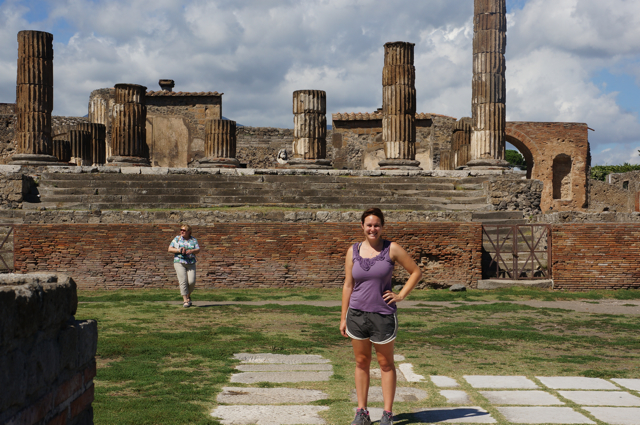 Something In Her Ramblings travel blog shares tips for navigating Pompeii in Italy.