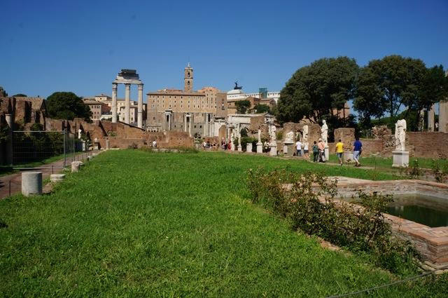 Visit the Roman Forum.