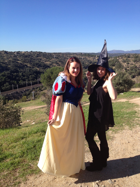 Halloween in Spain.