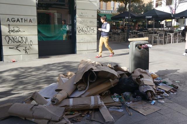 Sanitation Strike in Madrid