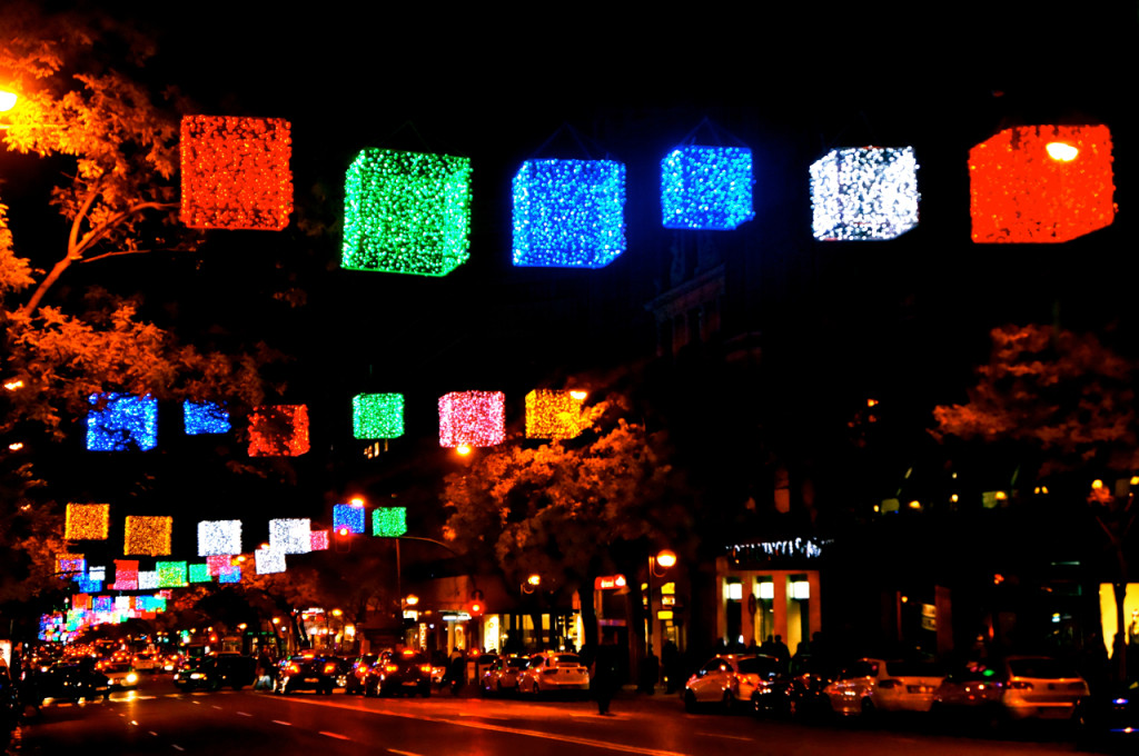 Christmas Lights in Madrid