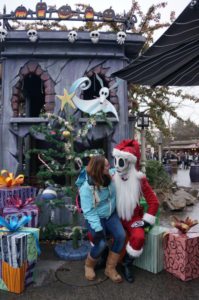 Christmas at Disneyland Paris is festive and full of celebration.