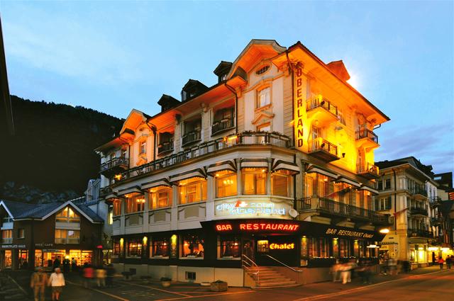 Accommodation in Interlaken, Switzerland: City Hotel Oberland