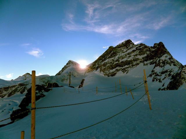 Climbing Snowy Peaks with the Jungfrau Railway