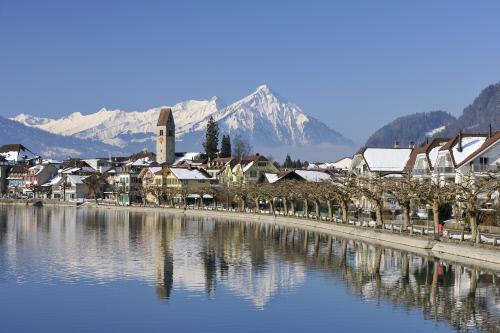 Interlaken, Switzerland is the gateway to the Swiss outdoors.