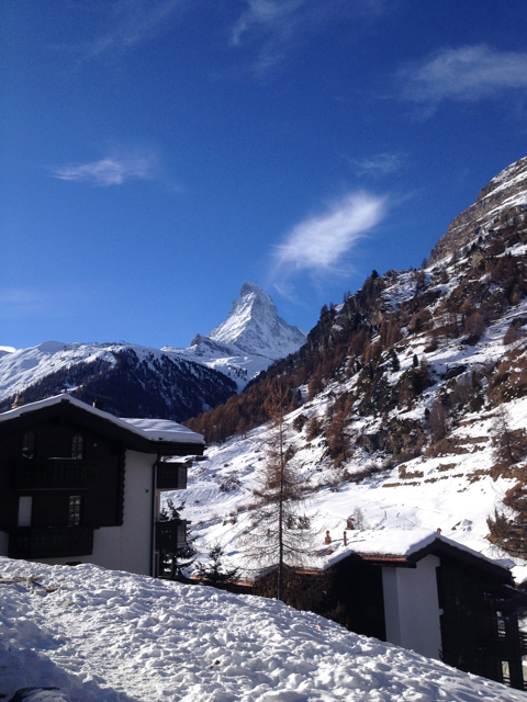 There are no Matterhorn Bobsleds on the real Matterhorn mountain in Zermatt, Switzerland.
