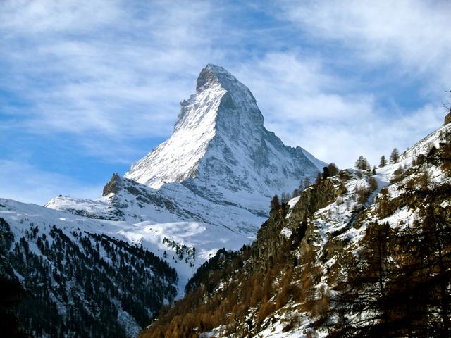 No Matterhorn Bobsleds in Sight: a Visit to the Real Matterhorn