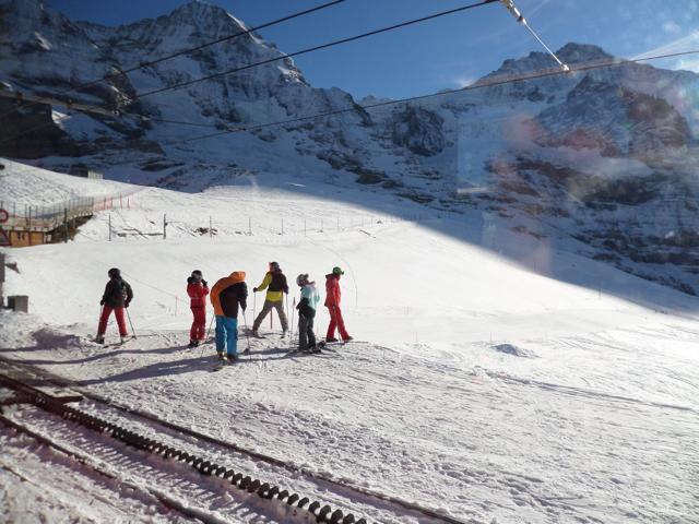 Ski the Swiss Alps in Interlaken, Switzerland.