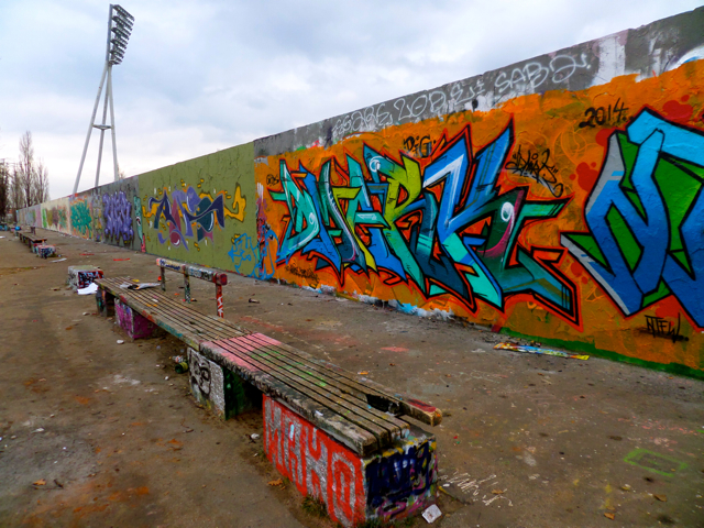 Mauer Park is a great place to visit the Berlin Wall.