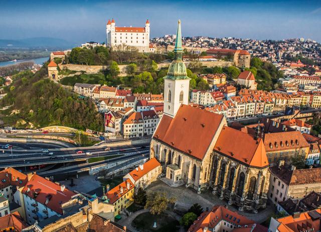 Something In Her Ramblings heads to Eastern Europe and Bratislava, Slovakia.