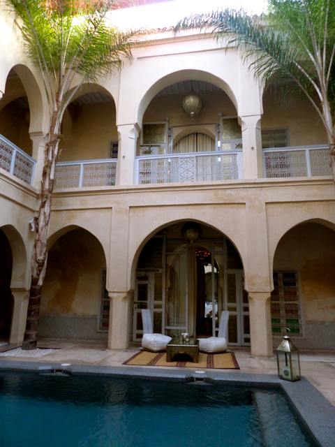 Relaxing at a riad is one of the top 10 things to do in Marrakech.