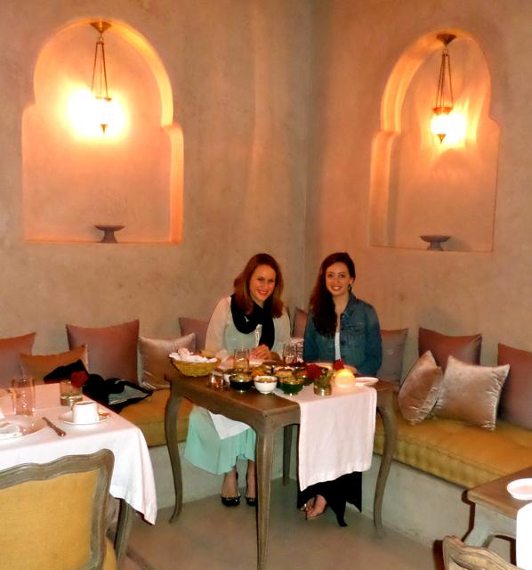 Riad Joya in Marrakech offers Marrakech fine dinning