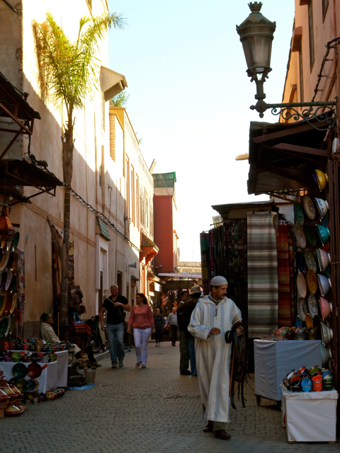 Visiting a souk is one of the top 10 things to do in Marrakech.