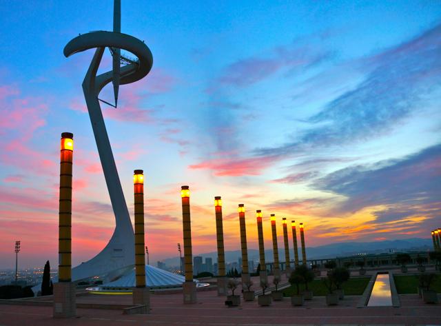 Barcelona Sunset Walk