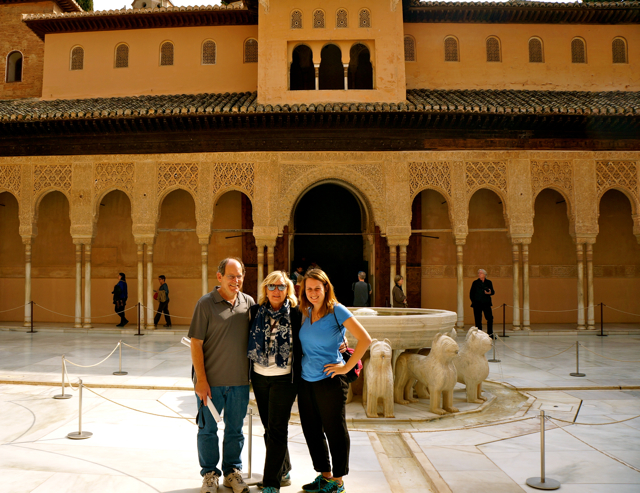 Views from the Alhambra of Granada
