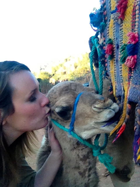 Take a camel selfie on a Marrakech Day Trip to Ourika Valley