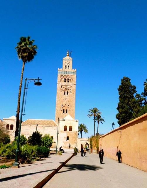 Koutobia Mosque is one of the top 10 things to do in Marrakech.