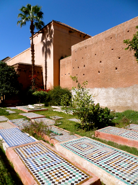 The Saadian tombs are one of the top 10 things to do in Marrakech.