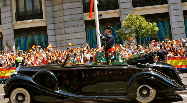 Coronation Day in Madrid welcomes King Felipe VI to the throne.