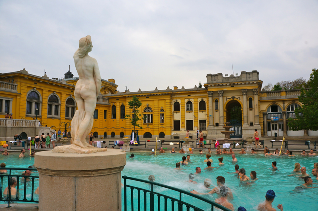 The Széchenyi Thermal Baths of Budapest