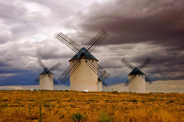 See the Windmills of La Mancha at Campo de Criptana