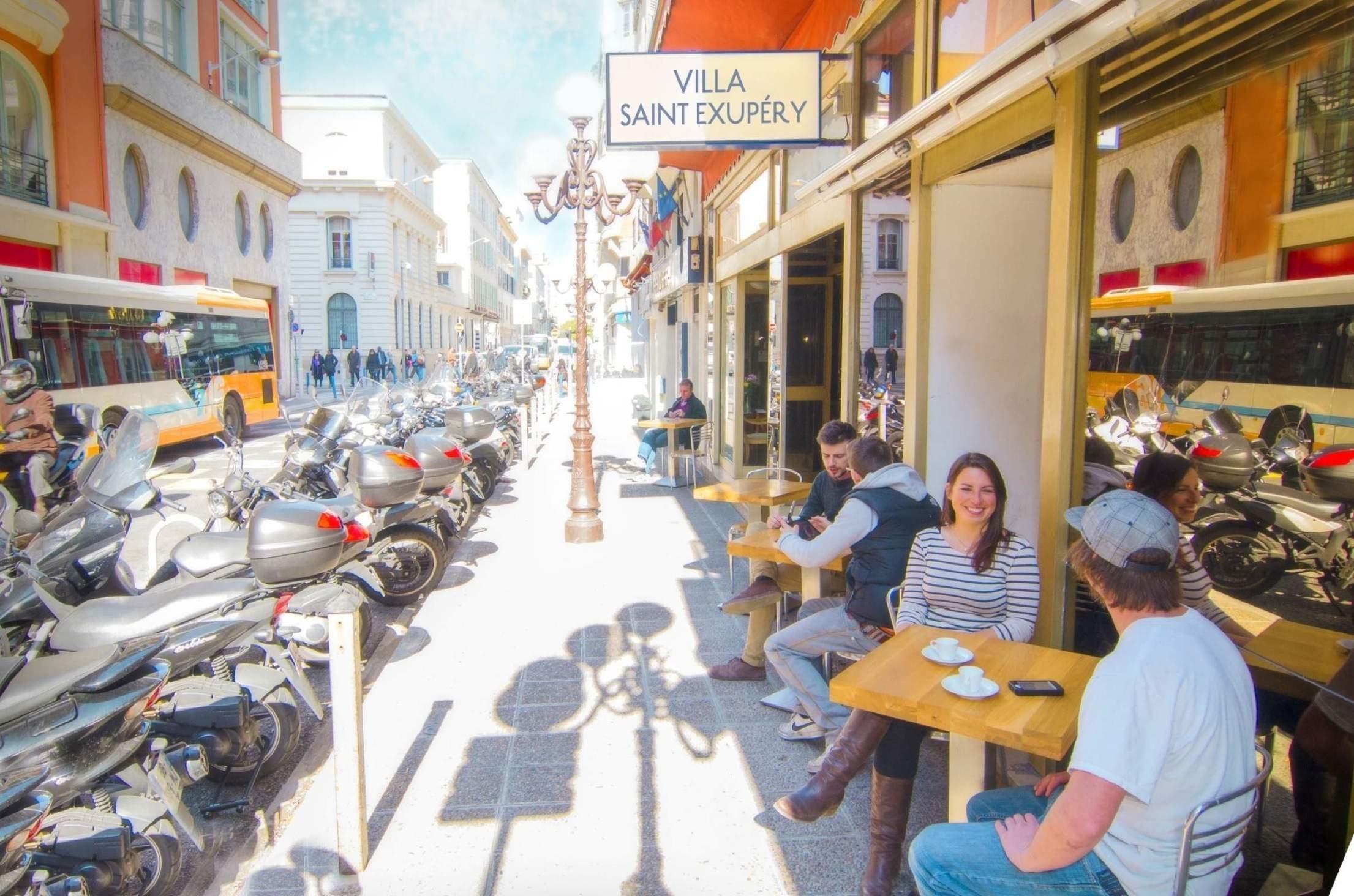 Cafe Terrace - Villa Saint Exupery