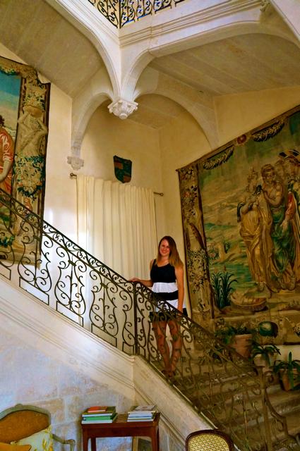 Travel blogger Lauren Salisbury of Something In Her Ramblings experiences Wine Tasting in France at Château de Flaugergues