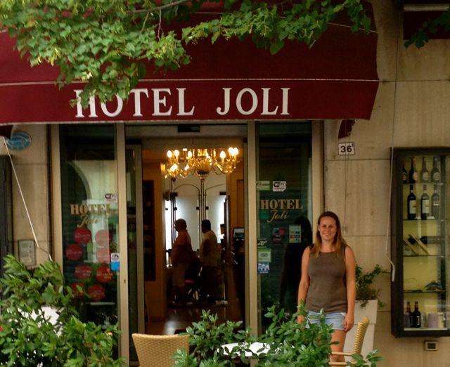 Where to Stay in San Marino: Hotel Joli