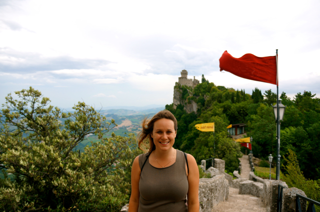 On the Set of Robin Hood? No, Just a Visit to San Marino