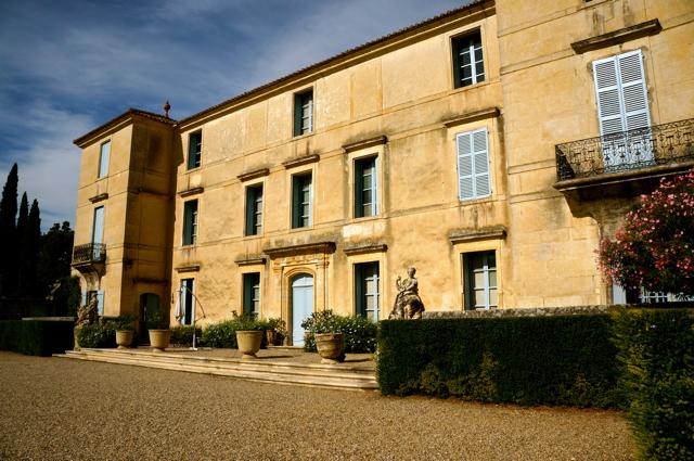 Wine Tasting in France at Château de Flaugergues