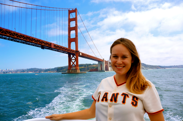 Sail Under the Golden Gate Bridge With Blue & Gold Fleet Ships