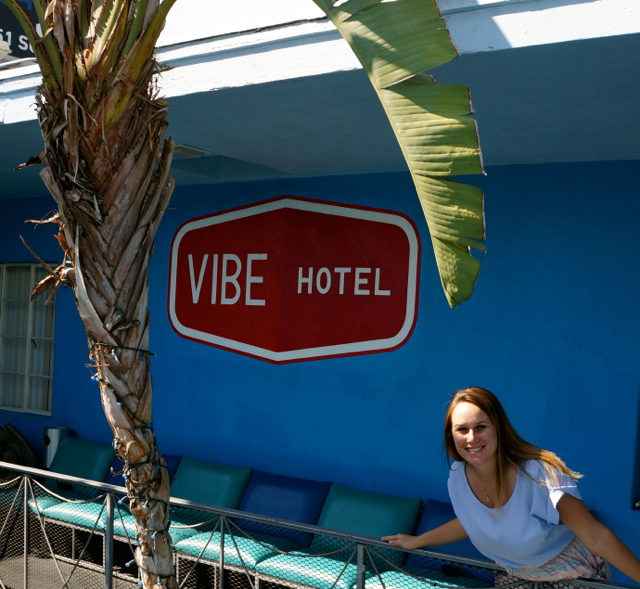 A Hollywood Story at Banana Bungalow Hostel