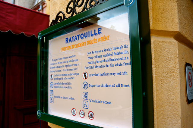 Ratatouille Land, Disneyland Paris