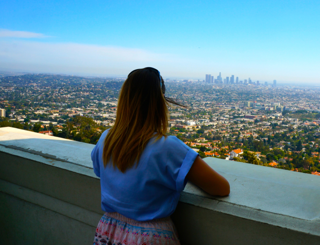 Los Angeles Griffith Observatory Views