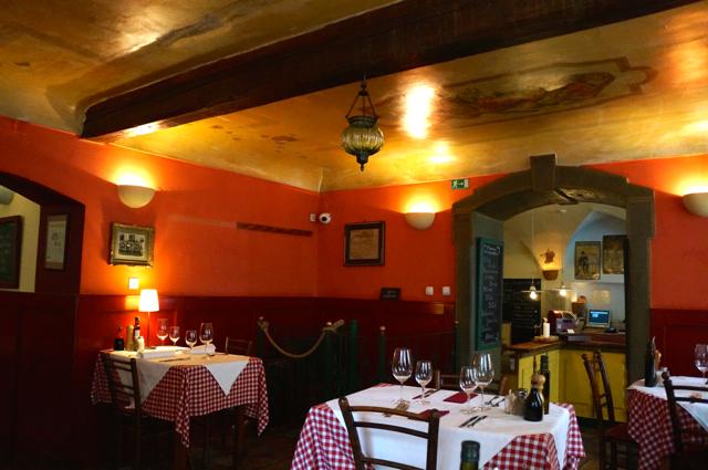 Dining in Slovenia Spajza Restaurant