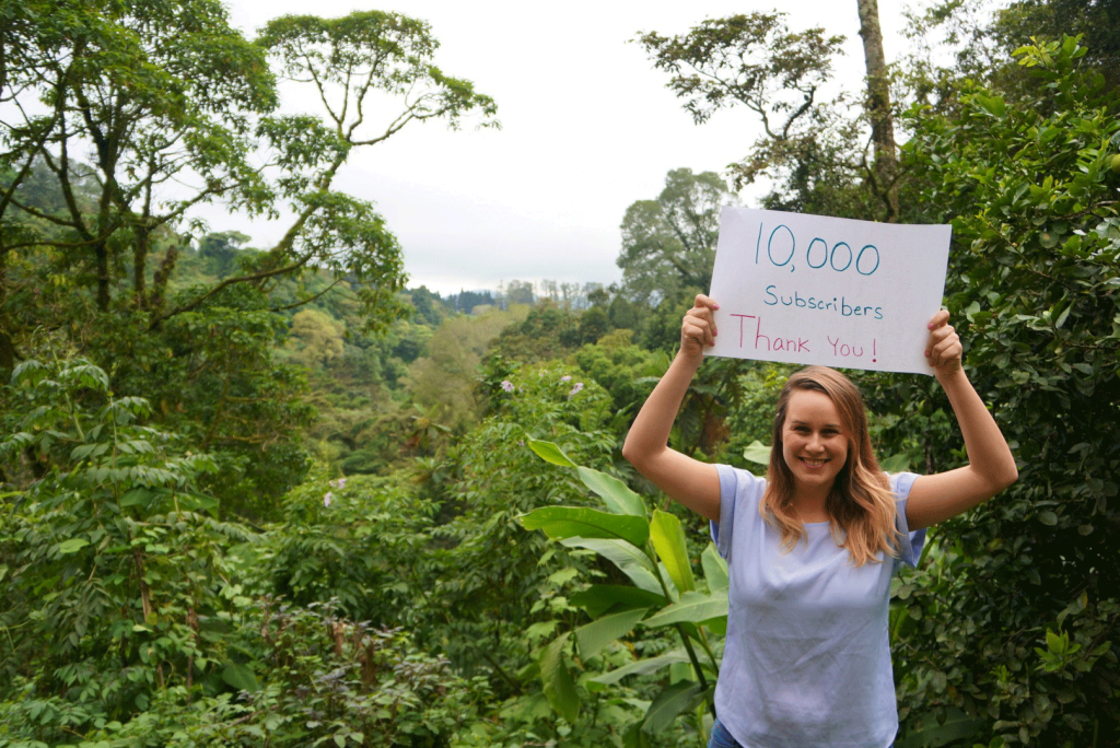 Something in Her Ramblings Travel Blog Reaches 10,000 Subscribers