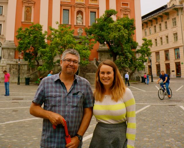 A Historic Walk Through Ljubljana, Slovenia