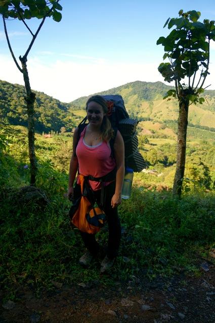 hike through the costa rican rainforest