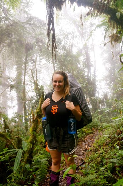 hiking in costa rica rainforest
