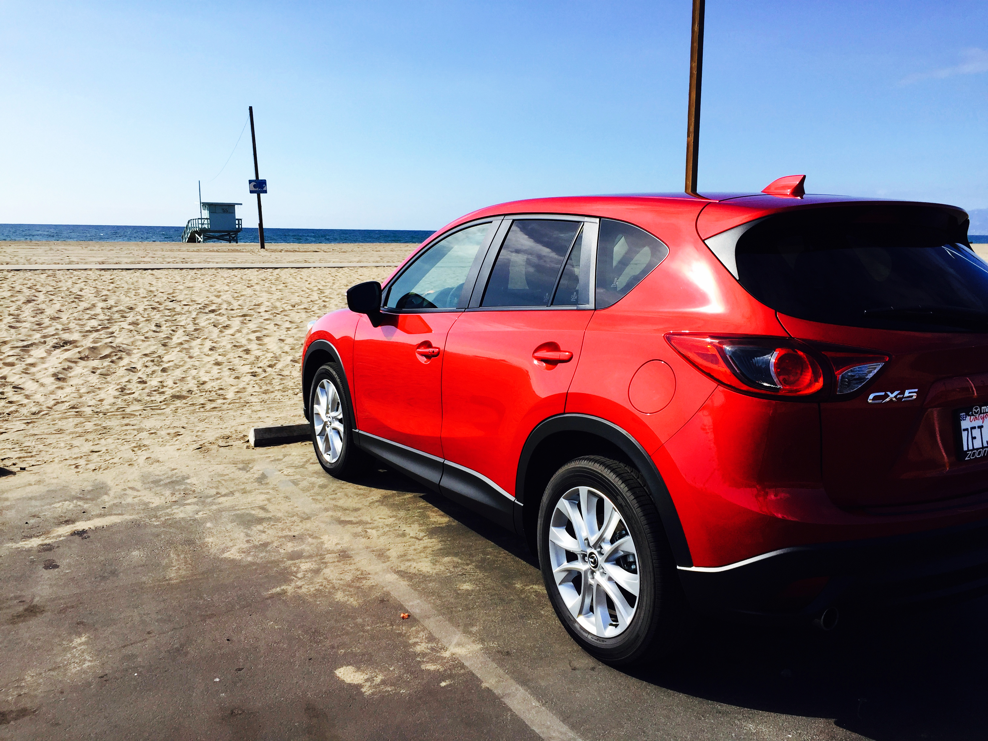 California Cruising in the Mazda CX-5