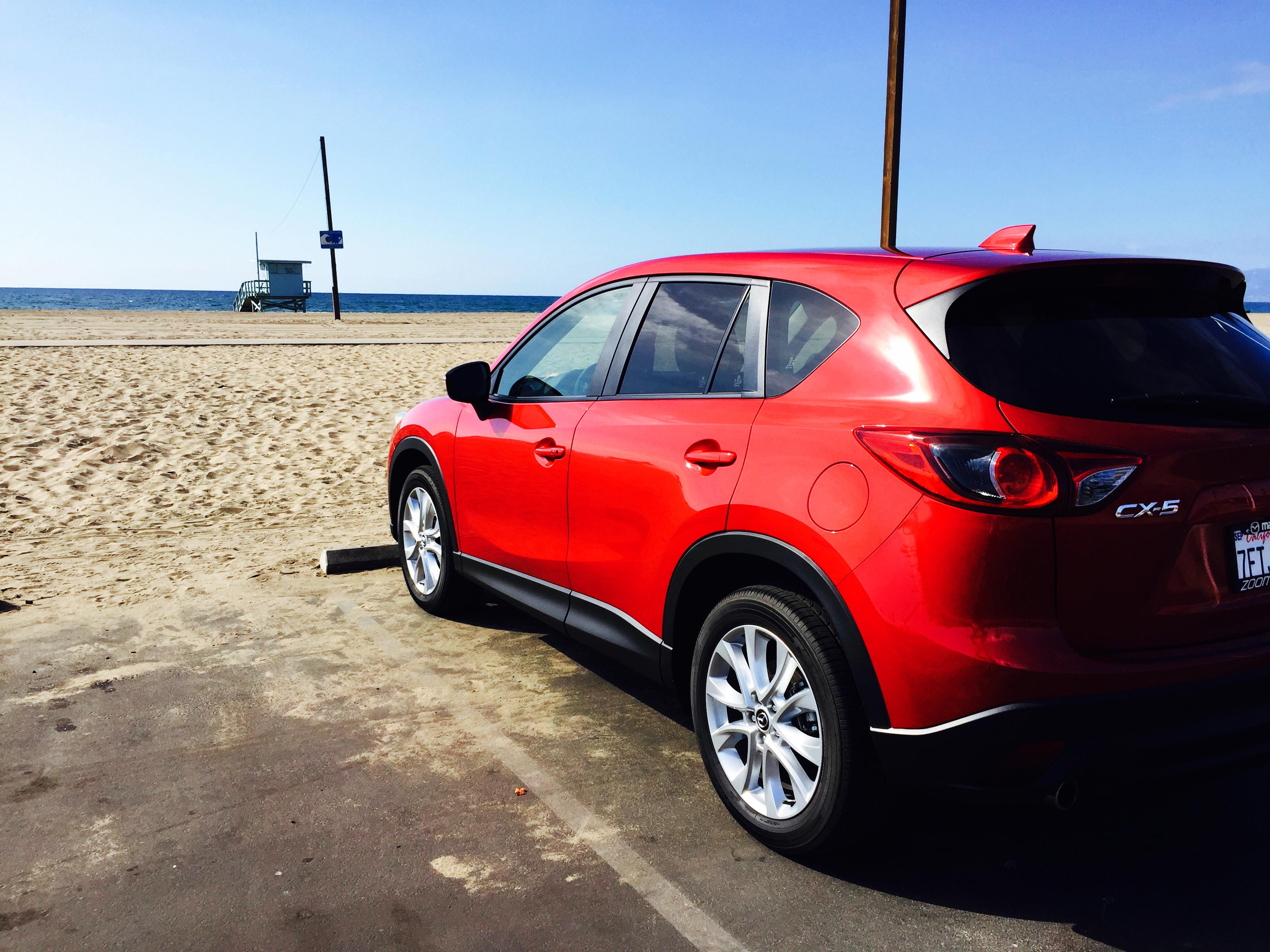 California Cruising in the Mazda CX-5