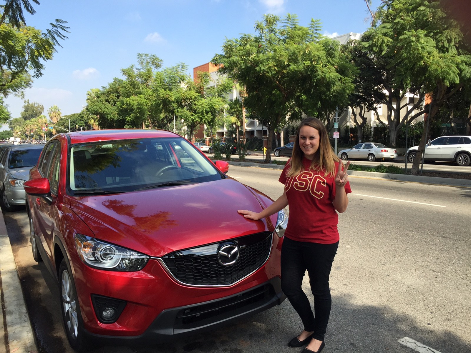 Fight on! Experiencing Trojan Family Weekend at USC with the Mazda CX-5