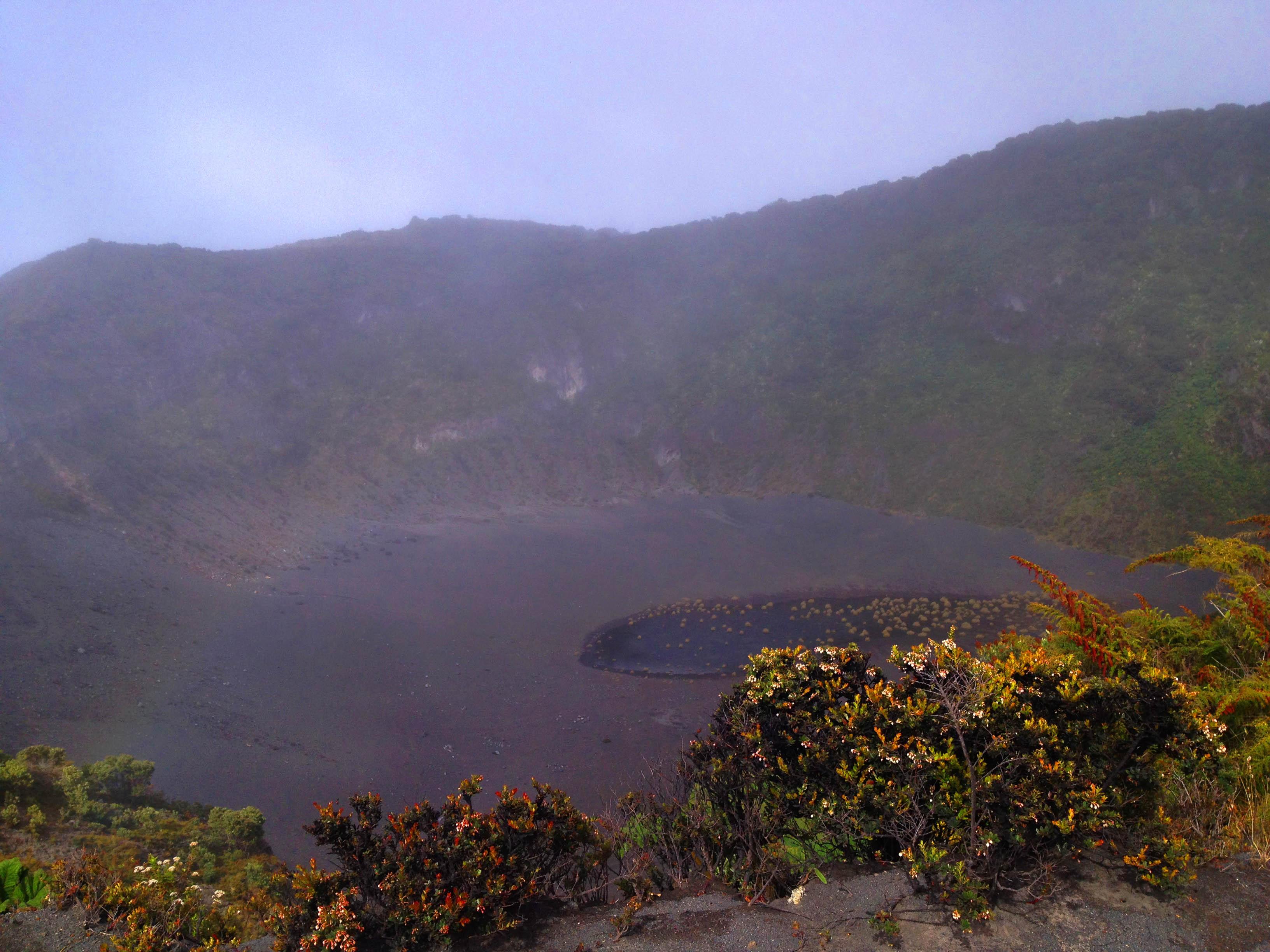 Summiting Irazú Volcano
