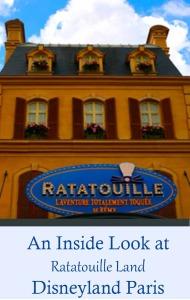 Ratatouille Land Disneyland Paris