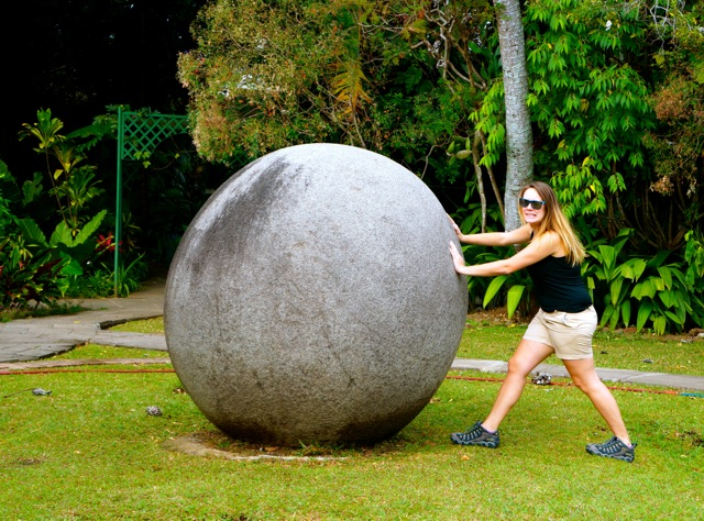 Rainforest Friday: Costa Rica Stone Spheres