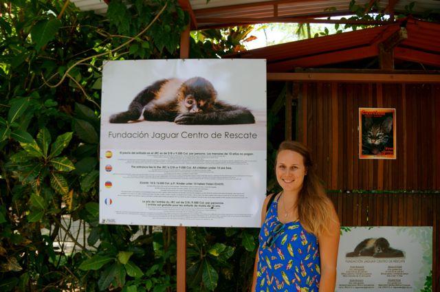 Travel blog Something In Her Ramblings visits the Jaguar Rescue Center