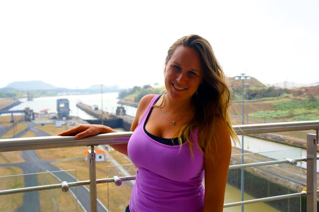 Travel blogger Lauren Salisbury visits the Panama Canal. Learn more with 10 fascinating facts about the Panama Canal.