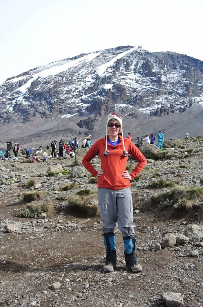 Mandy France travels solo in Kilimanjaro