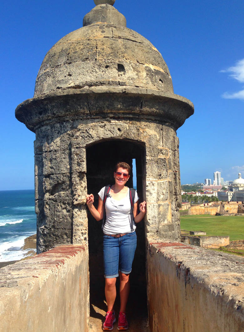 Mandy France travels solo in Puerto Rico
